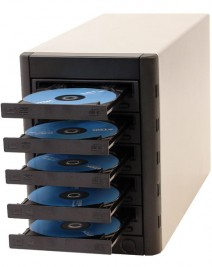 Multi-Writer DVD Tower