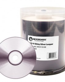 Shiny Silver DVD-R Media
