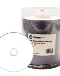 Microboards White Inkjet DVD-R
