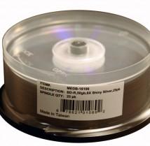 Microboards Silver Lacquer Blu-ray Media